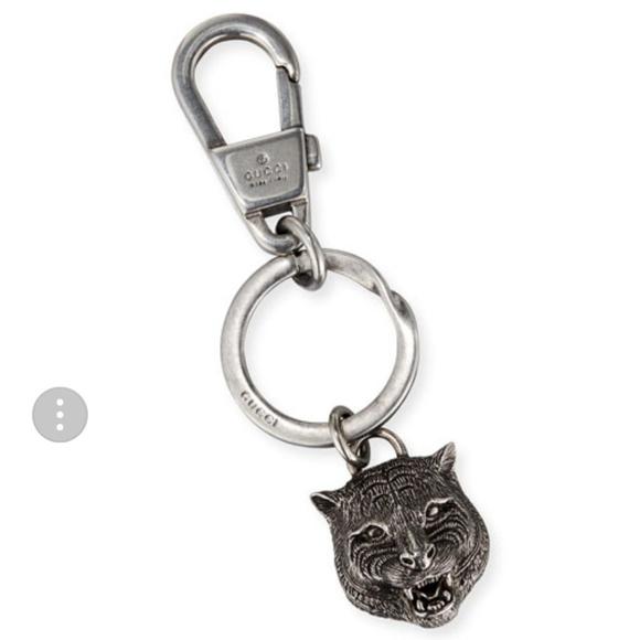 08aa1055f97 Gucci Accessories - Authentic GUCCI Felina Tiger Head Key Ring!